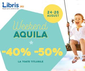 Campanie de reduceri Weekend Aquila -40% -50% la TOATE titlurile!