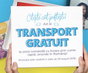 Campanie de reduceri  Transport GRATUIT la orice comanda!
