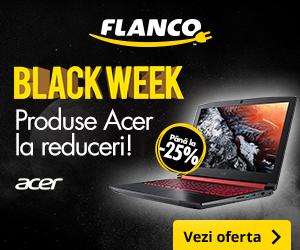 Campanie de reduceri Pana la -25% la produsele Acer - Black Week