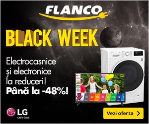Campanie de reduceri LG - pana la -48% la electronice si electrocasnice