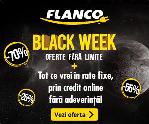 Campanie de reduceri Black Week - pana la 70% reducere