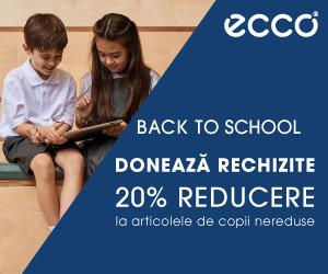 Campanie de reduceri Back to School