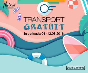 Campanie de reduceri Transport Gratuit
