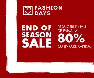 Campanie de reduceri End Of Season Sale - reduceri de pana la 80%