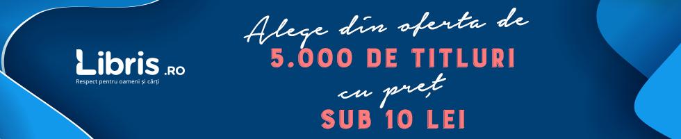 Campanie de reduceri Pret sub 10 lei pentru peste 5.000 de titluri bune!