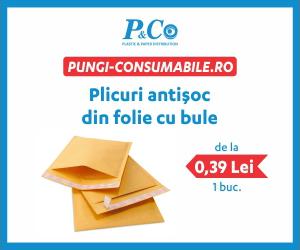 Campanie de reduceri Plicuri antisoc din folie cu bule, incepand de la 0,39 lei/bucata