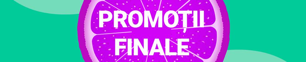 Campanie de reduceri Final de sezon! Reduceri de TOP