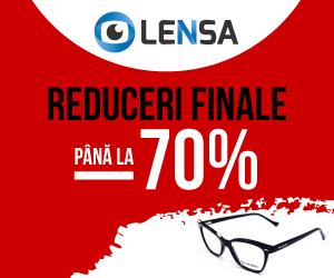 Campanie de reduceri Lensa.ro - Reduceri finale -70%