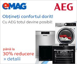 Campanie de reduceri Electrocsanice mari AEG