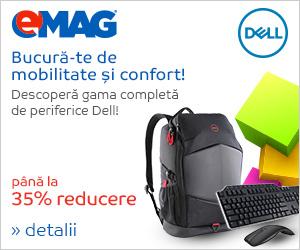 Campanie de reduceri Periferice Dell, 03- 10.09.2018
