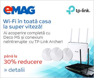 Campanie de reduceri Routere wireless TP-Link Archer, 10- 16.09.2018