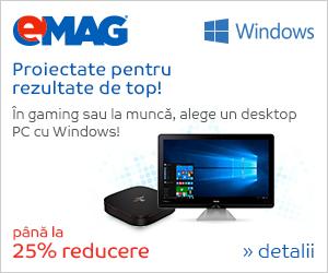 Campanie de reduceri Desktop-uri cu Windows, 06- 12.09.2018