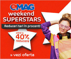 Campanie de reduceri Weekend Superstars, 1-2 septembrie 2018