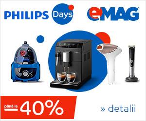 Campanie de reduceri Philips Days
