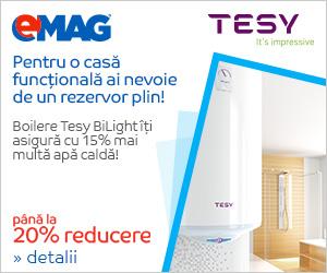 Campanie de reduceri Boilere Tesy BiLight