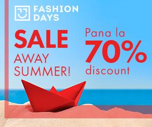 Campanie de reduceri Sale Away Summer - reduceri de pana la 70%