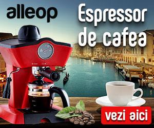 Campanie de reduceri Espressoare