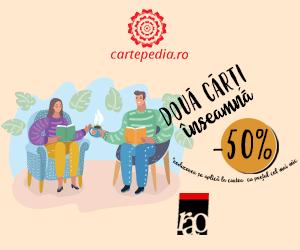 Campanie de reduceri -50% la a doua carte cumpărată de la editura Rao