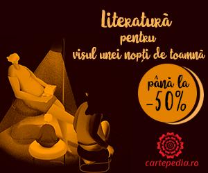 Campanie de reduceri Literatură pentru visul unei nopți de toamnă