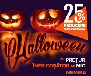 Campanie de reduceri Halloween Nemira