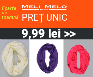 Campanie de reduceri Colectie de Toamna - Meli Melo