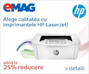 Campanie de reduceri Imprimante HP Laserjet, 24- 31.10.2018