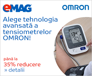 Campanie de reduceri Pana la 35% reducere la gama de tensiometre OMRON