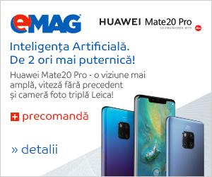Campanie de reduceri Precomandă Huawei Mate20 Pro