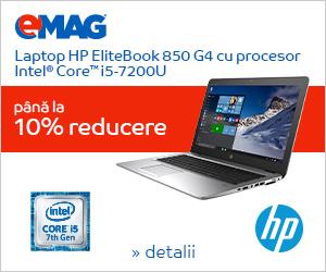 Campanie de reduceri Laptopuri HP EliteBook cu Intel, 12- 19.10.2018