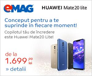 Campanie de reduceri Campanie Huawei Mate20 Lite