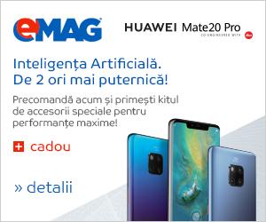 Campanie de reduceri Precomanda Huawei Mate20 Pro