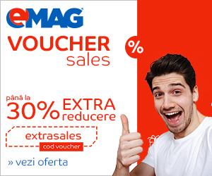 Campanie de reduceri Campanie Voucher Sales, 23-25 octombrie 2018