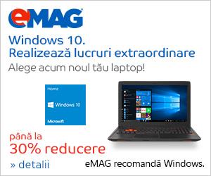 Campanie de reduceri Laptopuri cu Windows CHIPSET, 23.10- 05.11.2018