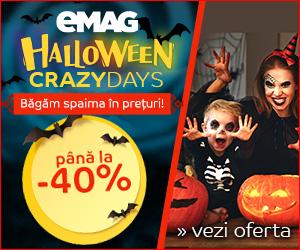 Campanie de reduceri Campanie Halloween, 26-31 octombrie 2018