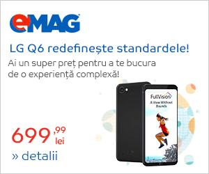 Campanie de reduceri Campanie LG Q6