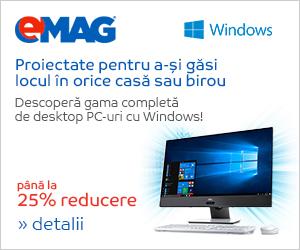 Campanie de reduceri Desktopuri cu Windows, 30.10- 05.11.2018
