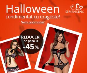 Campanie de reduceri Halloween condimentat cu dragoste!