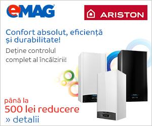 Campanie de reduceri Centrale termice Ariston
