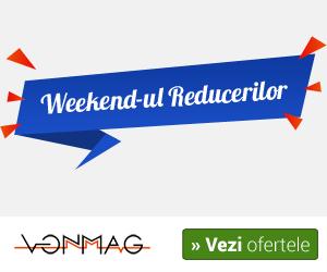 Campanie de reduceri Weekend-ul Reducerilor