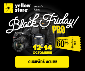 Campanie de reduceri Black Friday Pro la Yellow Store