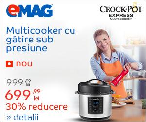 Campanie de reduceri Multicooker Crock-Pot - 30% reducere