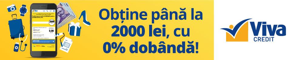 Campanie de reduceri VivaCredit.ro