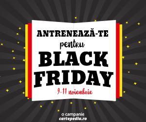 Campanie de reduceri Antrenează-te pentru Black Friday la Cartepedia