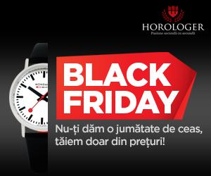 Campanie de reduceri Black Friday 2018 - ceasuri bărbătești