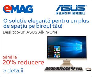 Campanie de reduceri Desktopuri AIO ASUS, 05- 09.11.2018