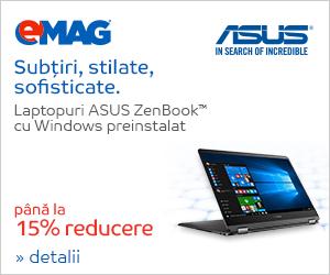 Campanie de reduceri Laptopuri ASUS nonROG Zenbook UX_MDF, 05- 12.11.2018