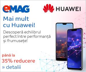 Campanie de reduceri Campanie telefoane Huawei
