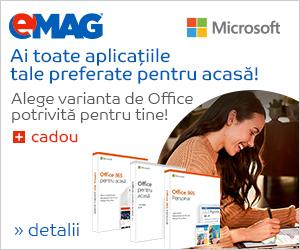 Campanie de reduceri Microsoft Office 365 Home, 09- 19.11.2018