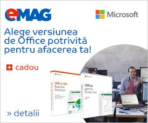 Campanie de reduceri Microsoft Office Home & Business, 09- 19.11.2018