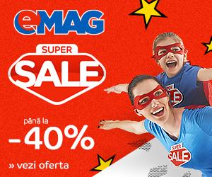 Campanie de reduceri Campanie Super Sale, 1-7 noiembrie 2018